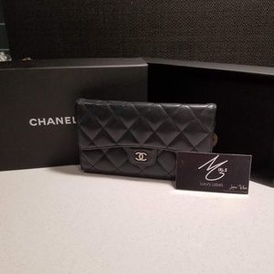 Chanel long wallet 100%authentic